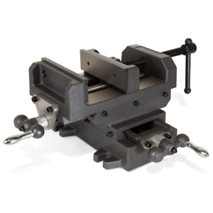 6 1 8 In Compound Cross Slide Industrial Strength Benchtop Vise
