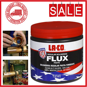 Rosin Soldering Flux Paste Solder Welding Grease For Copper Iron Steel Pipes 1lb