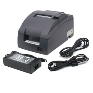 Epson Tm u220b Receipt Kitchen Printer Usb Interface Come With One Year Warranty