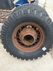 1935 More Ford 16 Kelsey Hayes Wire 16 Spoke Wheels 5 Bolt 5 5 Bc Pair