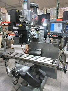 Bridgeport By Hardinge 3 axis Cnc Vertical Knee Mill With Acu rite Millpwer 2