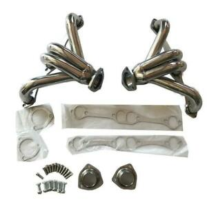Exhaust Manifold Headers Small Block For Chevy Sbc 350