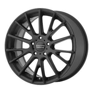 16 Inch 5x114 3 4 Wheels Rims 16x7 40mm Black American Racing Ar904