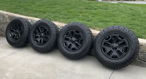 17 Jeep Wrangler 2016 2018 Willy s Rubicon Oem Wheels Rims Goodyear Tires
