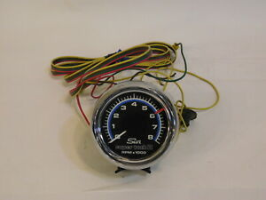 Sun Super Tach Ii Mopar Dodge Amc Ford Chrysler Chevy Complete With Bracket