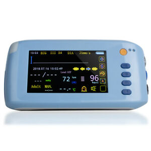 Portable Vital Signs Patient Monitor 6 parameter Icu Ccu Cardiac Monitor Machine