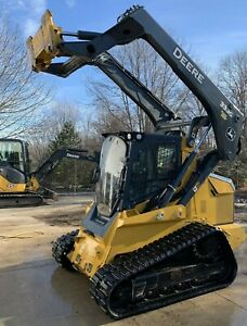 2017 John Deere 333g Skidsteer Track Unit Only 672 Hours Extremely Clean