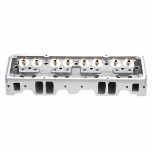 Edelbrock Performer Rpm Cylinder 64cc Head Bare For 1955 1986 Chevy Sb 60947