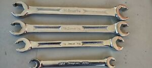 Snap On 3 8 13 16 Rxh Series Flare Nut Line Wrench Set 4pc