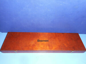 Starrett 120 12 Dial Caliper With Wood Case Very Good Condition