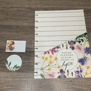 Happy Planner 2 pc Classic Floral Pocket Folder Sticky Notes