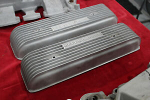 Vintage Offenhauser 303 324 Oldsmobile Valve Covers Hot Rod Custom V8 Olds Offy