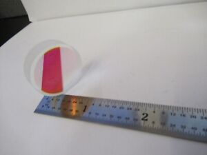 Optical Coated Flat 532nm Wavelength Filter Laser Optics As Pictured q6 a 114