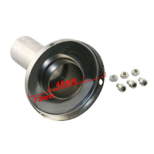 3 Universal Exhaust Muffler Silencer 3 Inch Stainless Steel Fit For Car 76mm