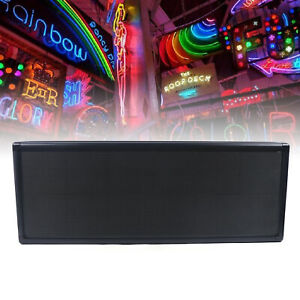 P5 Rgb Full Color Led Sign Programmable Scrolling Message 38 x 12 Display 110v