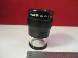 Optical Portable Lupe Fowler Magnifier Japan 7x Metrology Inspection 13 12