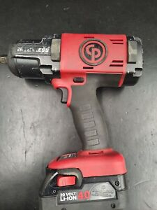 Chicago Pneumatic Cp8849 Cordless Impact Wrench 1 2 Drive With Battery