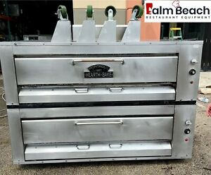 Used Montague 25p 2 Double Deck Gas Pizza Ovens