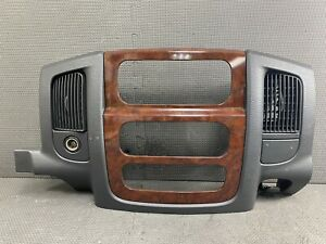 Oem 2002 2005 Dodge Ram 1500 2500 3500 Radio Dash Bezel Vents Climate Wood