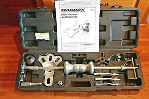 Maddox Mb16 1 Slide Hammer And Puller Set
