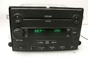 Ford 6 Cd Radio Premium Audio With Sub Expedition Mustang Fusion Edge 04 14 6e5t