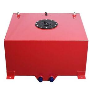 15 Gallon 57l Aluminum Fuel Cell Tank With Fuel With Level Sender Sending Unit