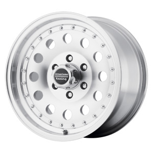 16 Inch 5x114 3 Wheel Rim 16x8 0mm Machined American Racing Ar62 Outlaw Ii