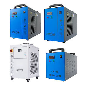 Cw5202 cw5200 cw3000 Industrial Water Chiller For Co2 Laser Tube Laser Engraver