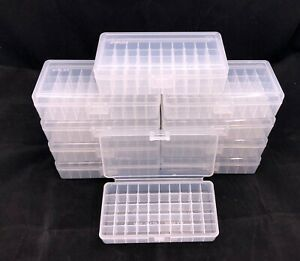 Plastic Ammo Box Lot of 10 50 Round 38 Special 357 Mag Made in USA MP 50 $29.99
