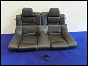 2013 2014 Ford Mustang Gt 5 0 Premium Leather Rear Seat Assembly Oem