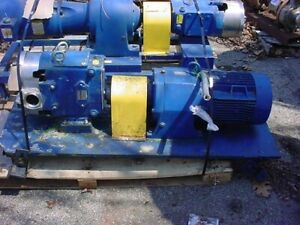 2 5 Inch Waukesha Stainless Steel Displacement Pump Model 60