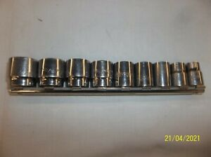 Matco Tools 3 8 Drive 9pc 6pt Sae Socket Set