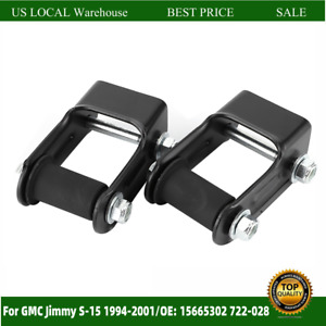 1pair Of Rear Leaf Spring Shackle 722 028 Replacement For Chevy Blazer Us