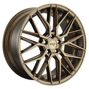19 Inch 5x114 3 4 Wheels Rims 19x9 5 35mm Matte Bronze Niche 1pc M191 Gamma