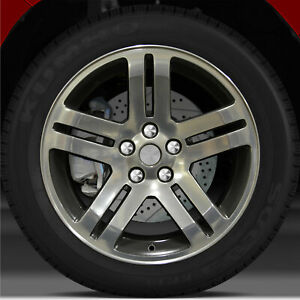 18x7 5 Factory Wheel Flat Black For 2006 2007 Dodge Charger