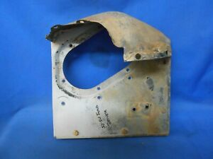 1952 1953 Ford Radiator Support Apron Side Air Deflector Panel W Bracket Driver