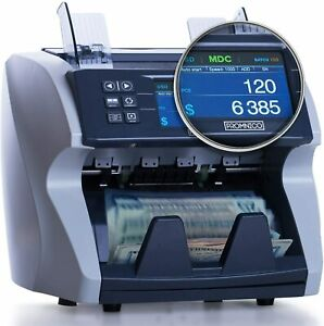 Money Cash Bill Counter Machine Cash Value For Multiple Currency Brand New
