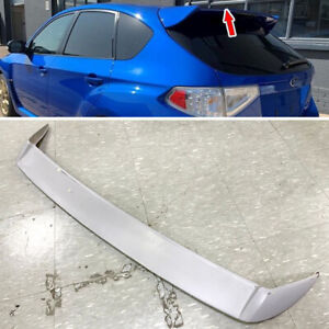 Painted Black Fit For Subaru Impreza Gr 5dr Add on Exterior Rear Trunk Spoiler