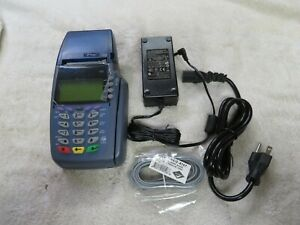 As is For Parts Or Repair Verifone Vx510 Pos Locked Tamper Possible Bad Rtc