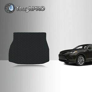 Toughpro Cargo Mat Black For Toyota Venza All Weather Custom Fit 2021 2022