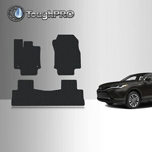 Toughpro Floor Mats Black For Toyota Venza All Weather Custom Fit 2021 2022