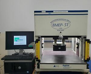Tyco Amp Asg Bmep 5t Benchtop Manual Press Fit Connector Press 5 Ton