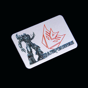 Car Badge Transformers Decepticon 3d Metal For Silverado Emblem Sticker 3d237