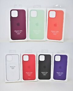 Apple Silicone OR Hard Case w Magsafe for iPhone 12 amp; iPhone 12 Pro 6.1quot; $17.75