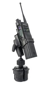 Cup Holder Mount For Motorola Apx6000 Apx7000 Apx8000