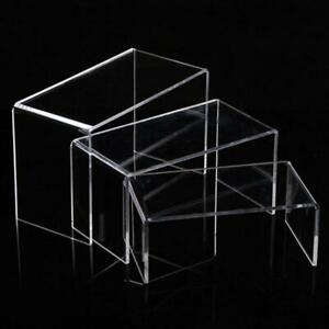 Acrylic Shoes Bags Display Stand Retail Holder Transparent Shoes Risers Showcase
