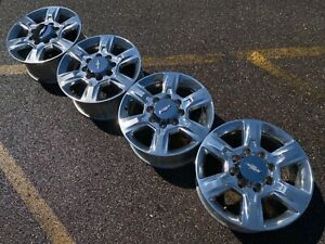 20 Chevrolet Silverado 2500 Hd Gmc Chevy Oem Factory Stock Wheels Rims 8x180