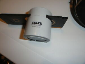 Zeiss Im 46 52 24 Inverted Microscope Tube Adapter Phase Ph1 Ph2 Condenser