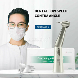 Dental Nsk Style Contra angle Low Speed Handpiece Push Button E type Coupler