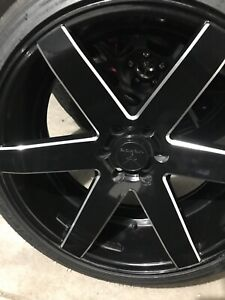 22 Verde Rims With Tires